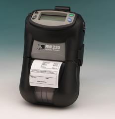 Мобилни етикетни принтери Zebra RW220