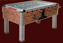 Table football (Kicker or Foosball)