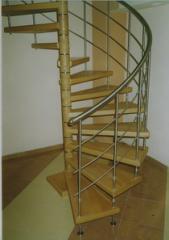 Модулни вити стълби