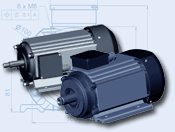 Трифазни асинхронни електродвигатели  за