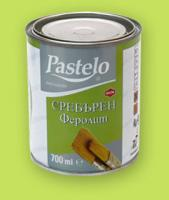Емайлак PASTELO сребърен феролит