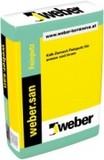 Фина мазилка на варо-циментова основа weber.san