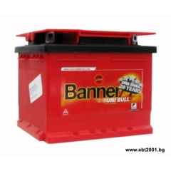 Акумулатор Banner 47 Ah, 12 V, Uni Bull