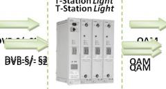 T station Light преобразовател