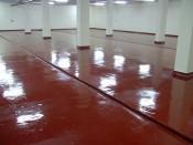 Self-levelling floors