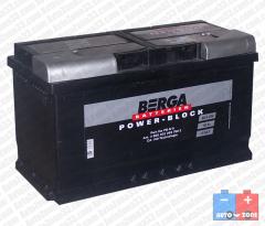 Акумулатор  BERGA Power Block 12V100Ah 830А R+
