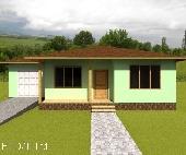 Сглобяема нискоенергийна къща с дървена