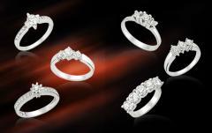 Брачни халки с диаманти