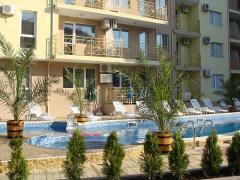 Двустаен апартамент в комплекс от Черно море