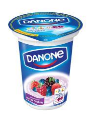 Кисело мляко Danone с парченца горски плодове