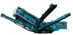 Пресевна инсталация мобилна Powerscreen Chieftain