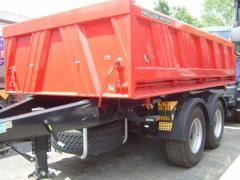 Ремарке за товарен автомобил MEILLER MZDA 18-21