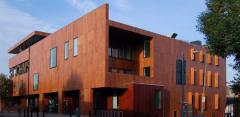 Фасада HPL окачена