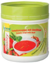 Супа разтворима домати с босилек