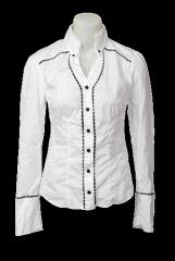 Дамска риза с ширит на точки