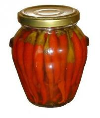 Canned pickle vegetables