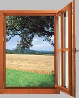 Дървена стъклопакетна дограма