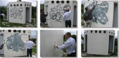 Покрития прахови със защита от графити Anti