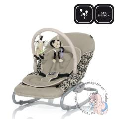 Шезлонг с играчка ABC Design Classic Toffee 2011