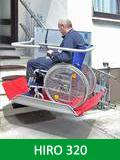 Инвалидни подемници HIRO 320