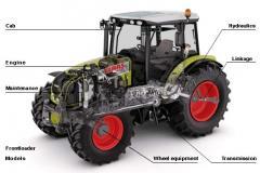 Трактор AXOS