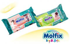 Бебешки кърпи Molfix
