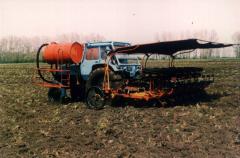 Шест секционна разсадосадачна машина СКН 6 А