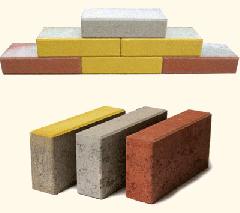 Тухли бетонни плътни