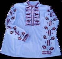 Тракийска мъжка бродирана риза