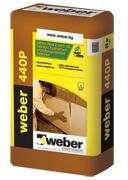 Лепилно-шпакловъчна смес  weber 440P