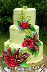 Торта сватбена