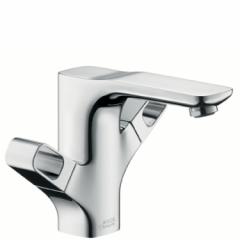 Смесител за мивка с управление за сифон Axor