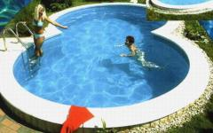 Polycarbonate pools