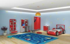 Детски спален комплект Ферари