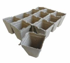 Торфени саксийки за разсад Тип 12