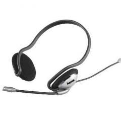 Слушалки с микрофон CS-499 средни, бутон