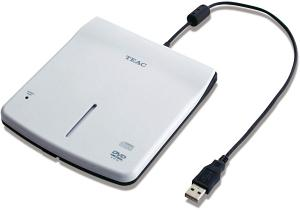 Четящо устройство външно TEAC PU-DVR10-K90, slim,