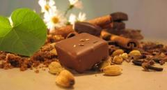 Шоколадови бонбони с подправки
