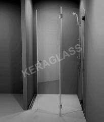 Стъклена сгъваема врата Paris 2