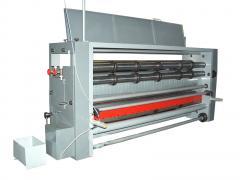 Съоръжение за нанасяне на цветен печат върху