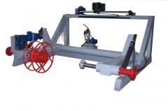 Съоръжение за измерване навиване и нареждане на