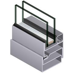 Стоманен прозорец JANSEN стандарт
