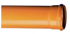 Тръба ф500*12.3 SN4, с муфа, трислойни