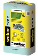 Лепилно-шпакловъчна смес  weber 470P