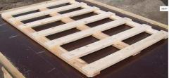 Скара дървена от иглолистен материал
