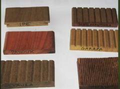 Външни настилки от тропическа дървесина