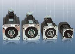 Синхронни безколекторни серводвигатели с вграден