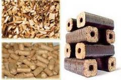 Инсталация за пелети и брикети от биомаса –