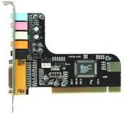 Звукова карта вътрешна C-Media 8738 6 канална PCI