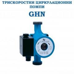 Трискоростни циркулационни помпи GHN